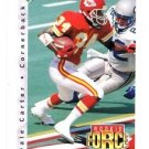 Dale Carter RC Trading Card 1992 Upper Deck #404 Chiefs RF