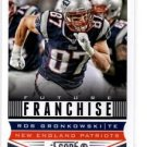 Rob Gronkowski Future Franchise Trading Card Single 2013 Score #317 Packers