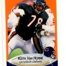 Keith Van Horne Trading Card Single 1990 Fleer 302 Bears