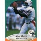 Mark Duper Trading Card Single 1990 Fleer #239 Dolphins