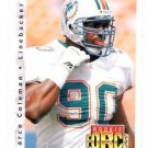 Marco Coleman RC Trading Card 1992 Upper Deck #405 Dolphins RF