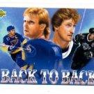 Brett Hull Wayne Gretzky Trading Card Single 1992-93 Upper Deck #423