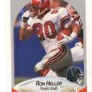 Ron Heller Trading Card Single 1990 Fleer #378 Falcons