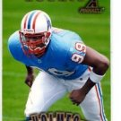 Kenny Holmes RC Trading Card 1997 Pinnacle #167 Oilers