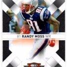 Randy Moss Trading Card Single 2008 Donruss Threads #61 Patriots