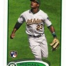 Michael Taylor RC Traidng Card Single 2012 Topps #36 Athletics