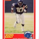 Quinn Early RC Tradng Card Single 1989 Score #191 Chargers