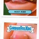 Must Ash & Crumby Carl 2014 Topps Garbage Pail Kids #71a & #72b