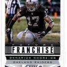 Denarius Moore Future Franchise Trading Card Single 2013 Score=#321 Raiders