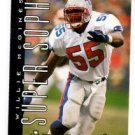 Willie McGinest Tradng Card Single 1995 Skybox Impact #166 Patriots