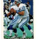 Scott Mitchell Trading Card 1995 Topps #275 Lions
