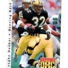 Vaughn Dunbar RC Tradng Card Single 1992 Upper Deck #408 Saints