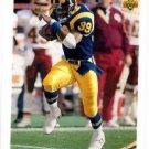Robert Delpino Tradng Card Single 1992 Upper Deck #373 Rams MVP