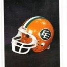 Edmonton Eskimos Trading Card 1992 All World CFL CL #95