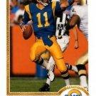 Jim Everett Trading Card 1991 Upper Deck #164 Rams
