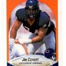 Jim Covert Trading Card Single 1990 Fleer #290 Bears