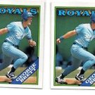 George Brett Trading Card Single 1988 Topps #700 Royals