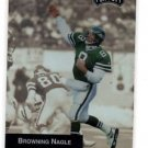 Browning Nagle Trading Card Single 1993 Playoff #92 Jets