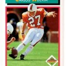 Carlos Huerta RC Trading Card Single 1992 Score #511 Chargers