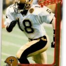 Wesley Cazrroll RC Trading Card Single 1992 Action Packed Update #22 Saints