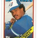 George Bell Trading Card 1988 Topps #590 Blue Jays