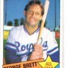 George Brett Trading Card Single 1985 Topps #703 Royals NMMT