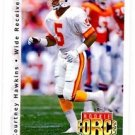 Courtney Hawkins Tradng Card Single 1992 Upper Deck #412 Buccaneers RC RF