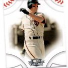 Will Clark Trading Card 2008 Donruss Threads #44 Giants