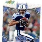 Justin McCariens Trading Card Single 2008 Score #312 Titans