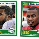 EJ Manuel & Robert Woods RC Trading Card Lot 2013 Score #364 & 418 Bills