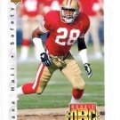 Dana Hall RC Tradng Card Single 1992 Upper Deck #410 49ers RF