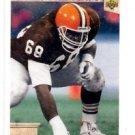 Ed King Tradng Card Single 1992 Upper Deck #40 Browns ART