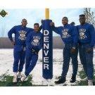 Mike Croel Greg Lewis Keith Traylor Kenny Walker 1991 Upper Deck #601 Broncos CL