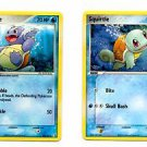 Wartortle & Squirtle Common Lot Pokemon Crystal Guardians 63 64 100 x1 NMMT