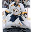 Pekka Rinne Trading Card Single 2015-16 UD Overtime #2 Predators