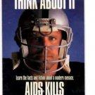 Howie Long AIDs Kills Trading Card Single 1991 Pro Set #725 Raiders