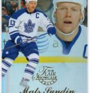 Mats Sundin Flair Insert 2014-15 UD Fleer Showcase Row #1 Seat #46 Leafs