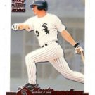 Magglio Ordonez Trading Card Single 2000 Pacific Paramount Ruby #56 White Sox