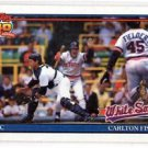 Carlton Fisk Trading Card Single 1991 Topps #170 White Sox