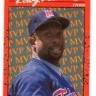 Kirby Puckett Trading Card Single 1990 Donruss #BC-1 Twins