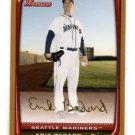Erik Bedard Gold Parallel SP 2009 Bowman #10 Mariners