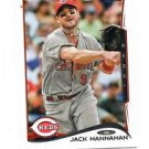 Jack Hannahan Trading Card Single 2014 Topps Mini Exclusives #80 Reds