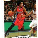 Shaun Livingston Trading Card 2005-06 Topps 1st Edition #65 Clippers