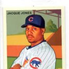 Jacque Jones MIni Base Trading Card Single 2007 UD Goudey #48 Cubs
