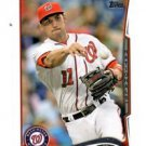 Ryan Zimmerman Trading Card 2014 Topps Mini Exclusives #378 Nationals