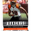 A.J. Green Franchise Trading Card Single 2013 Score #273 Bengals