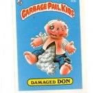 Damaged Don License Back Sticker 1985 Topps Garbage Pail Kids UK Mini #40b