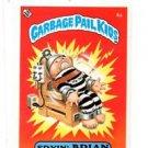 Fryin Brian License Back Sticker 1985 Topps Garbage Pail Kids UK Mini #4a