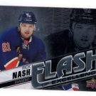 Rick Nash Flash Excellence Insert 2015-16 UD Overtime #FOE-2 Rangers