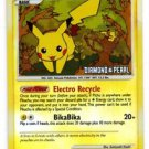 Pikachu LVL 15 Reverse Holo Common  Pokemon Mysterious Treasures 94/123 x1